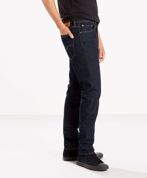 Modell i Levis 512 Slim taper fit rock cod side