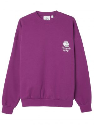 Bild på en Cheap Monday Goal sweat Flex skull Cerise framifrån