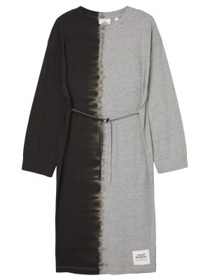 Bild på en Cheap Monday Bind dress Dip dye Grey melange framifrån