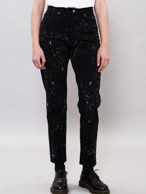 Bild på ett par Dr.Denim jeans Nora, tvätten Night Sky