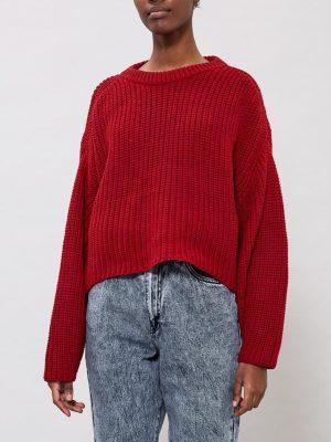 Bild på en stickad tröja DrDenim Norine knit framifrån