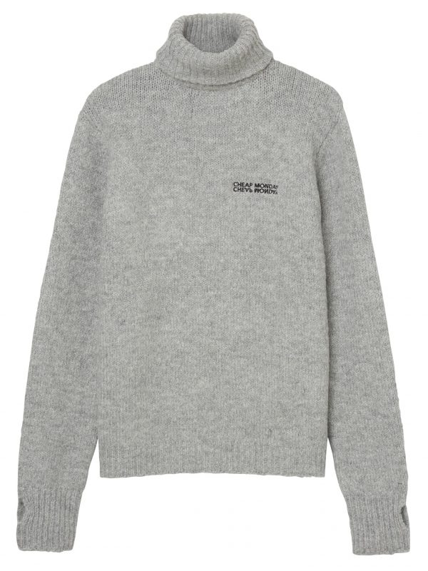 Produktbild 0582663 Tap knit echologo Grey melange