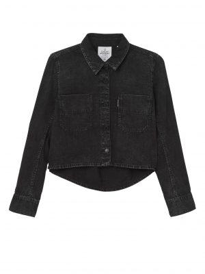 Produktbild Cheap Monday Land Denim Shirt Speckled Black