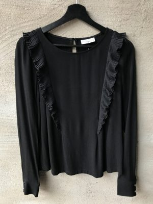 Produktbild Minimum Carolyn longsleeved blouse black