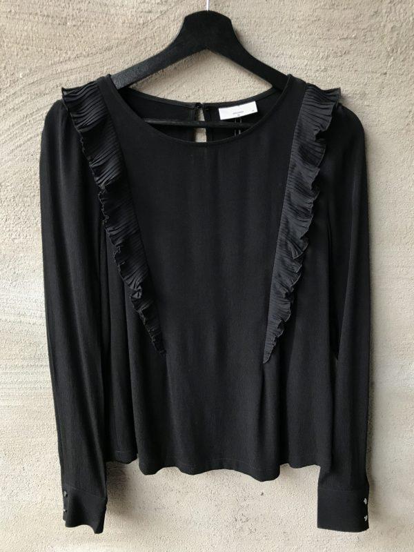 Produktbild Minimum Carolyn longsleeved blouse black