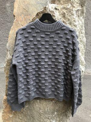 Produktbild Rut&Circle Jaquard sweater grey