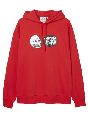 Produktbild Cheap Monday Cheat Hood Speech logo Scarlet red