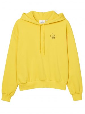Produktbild Cheap Monday Form hood Tiny skull Solar yellow