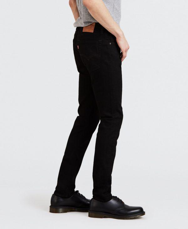 Modell i ett par Levis 519 Extreme skinny 24875-0070 från sidan