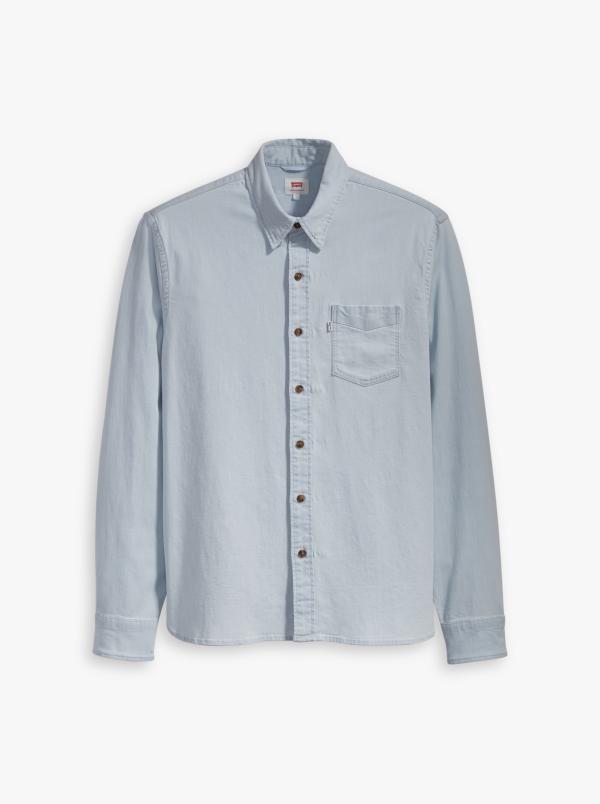 Produktbild Levis Sunset 1-Pocket shirt Super White Light