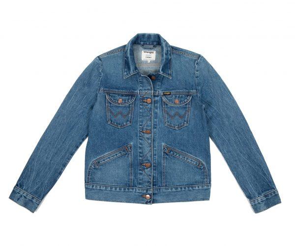 Flatshot på en Wrangler Icons Womens Western Jacket
