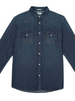 Produktbild Wrangler Mens Western Shirt W5MLSW301