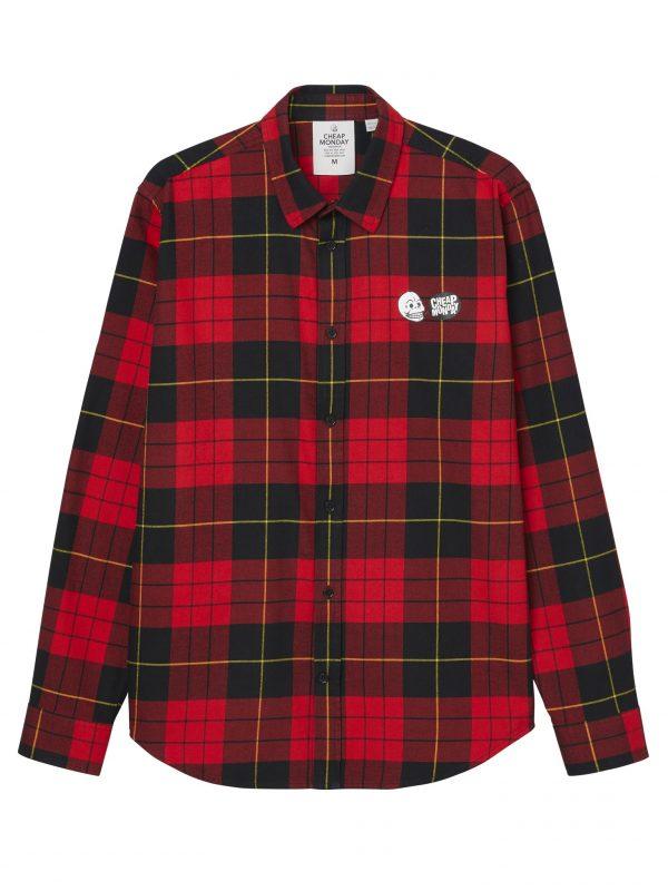 Produktbild 0639086 Cheap Monday Fit Shirt Scarlet Red