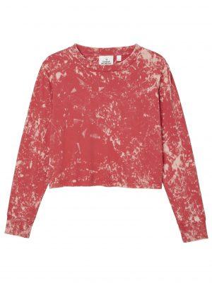 Produktbild på en Cheap Monday Beside wash ls tee Scarlet red