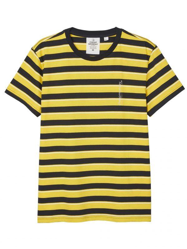 Produktbild Cheap Monday Standard stripe tee Solar Yellow