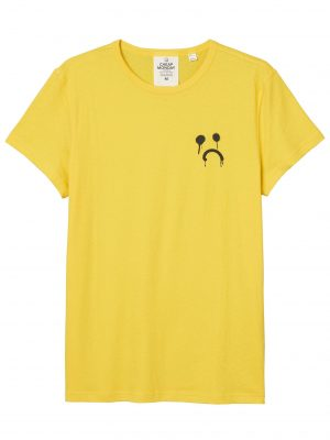 Produktbild Cheap Monday Slim tee Drip sadly Solar yellow