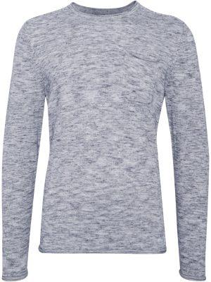 Produktbild på en Blend Pullover Navy Blue framifrån