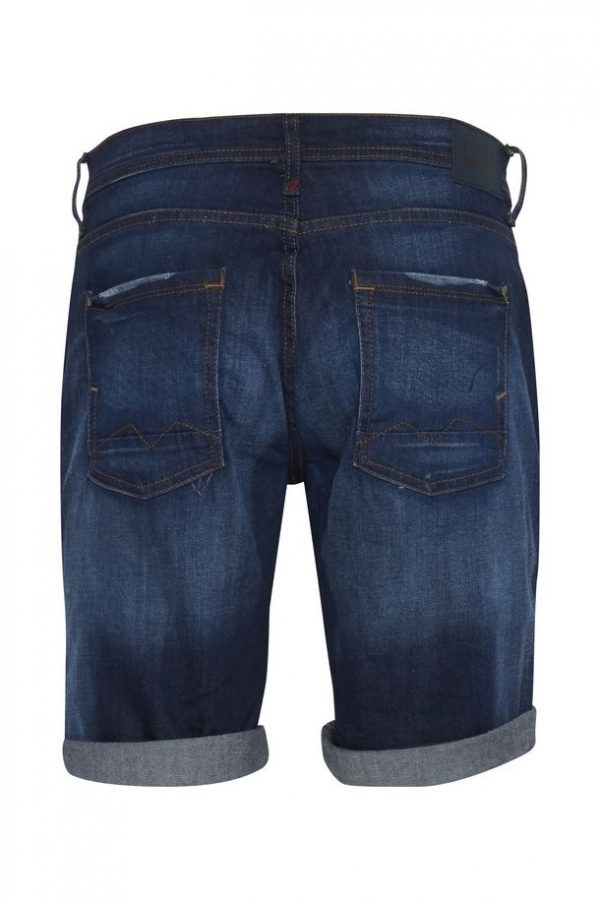 Blend Shorts Twister denim dark blue back
