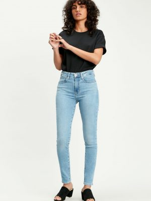Levis 721 High Rise Skinny Jeans - Have A Nice Day