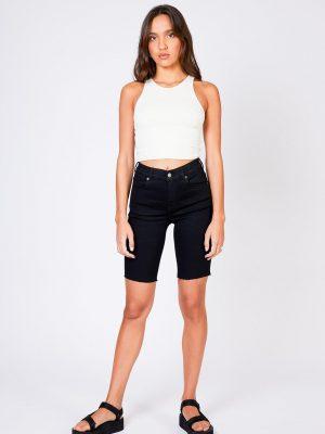 DrDenim Lexy Bicycle Shorts - Svart