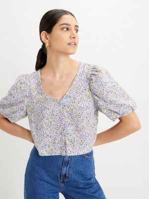 Levis Holly Blouse - Monrovia Floral